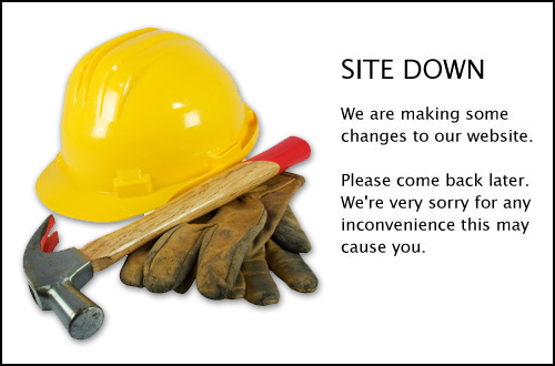 Site Down - Please come back and visit us in a little while